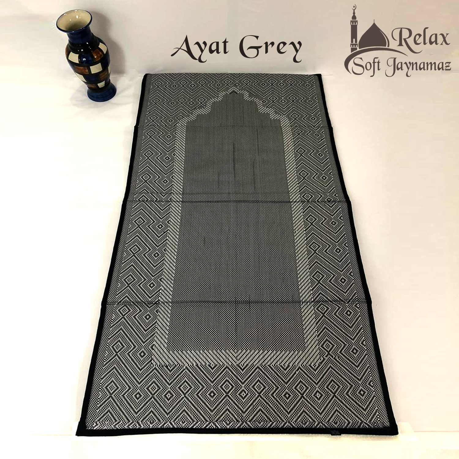 Relax Soft Jaynamaz Foam Padded Prayer Mat